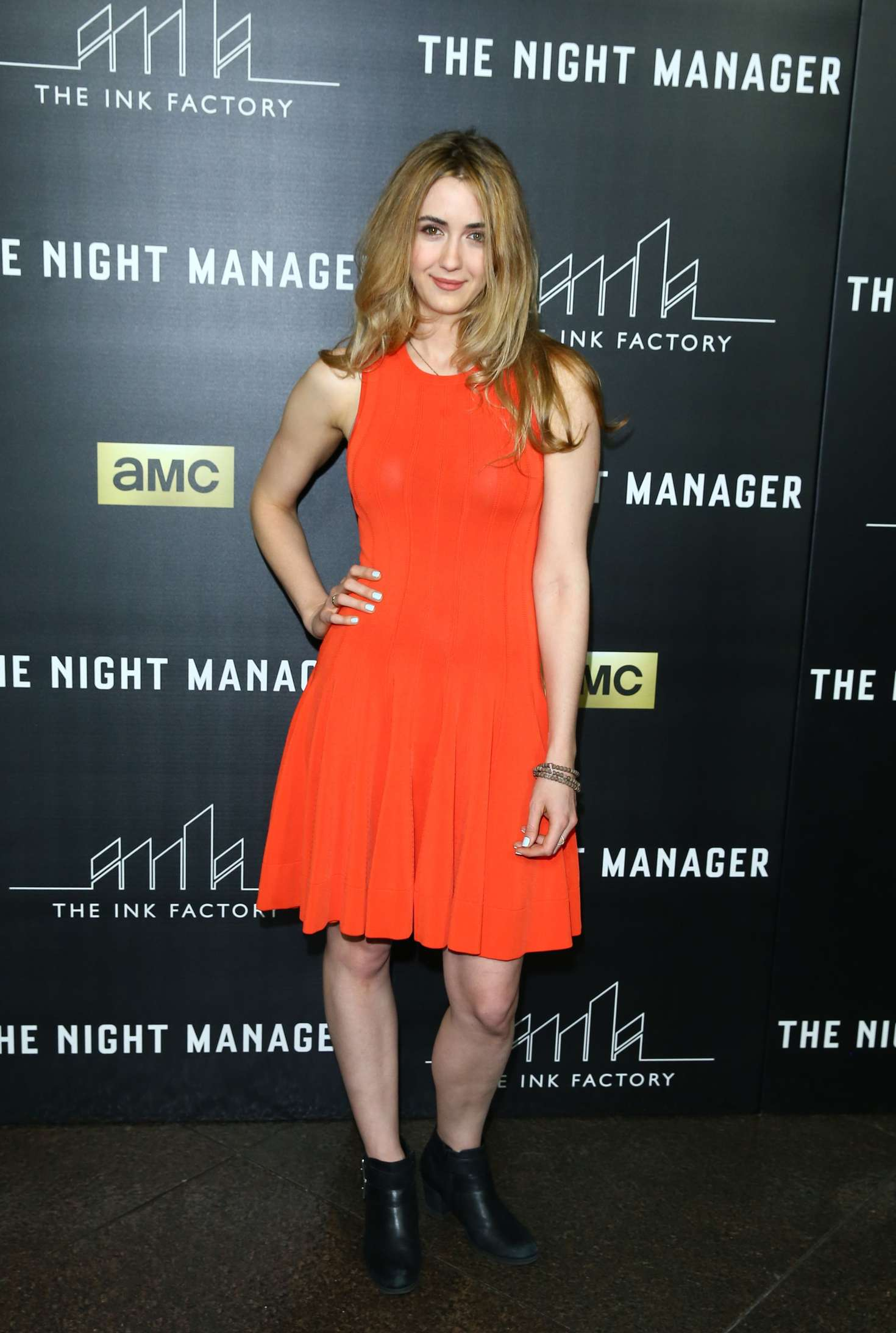 Madeline Zima The Night Manager Premiere in Los Angeles