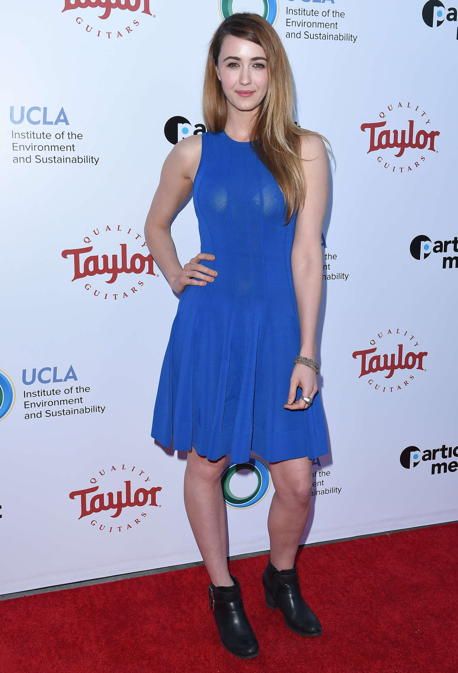 Madeline Zima UCLA Institute of the Environment and Sustainability Gala in Beverly Hills