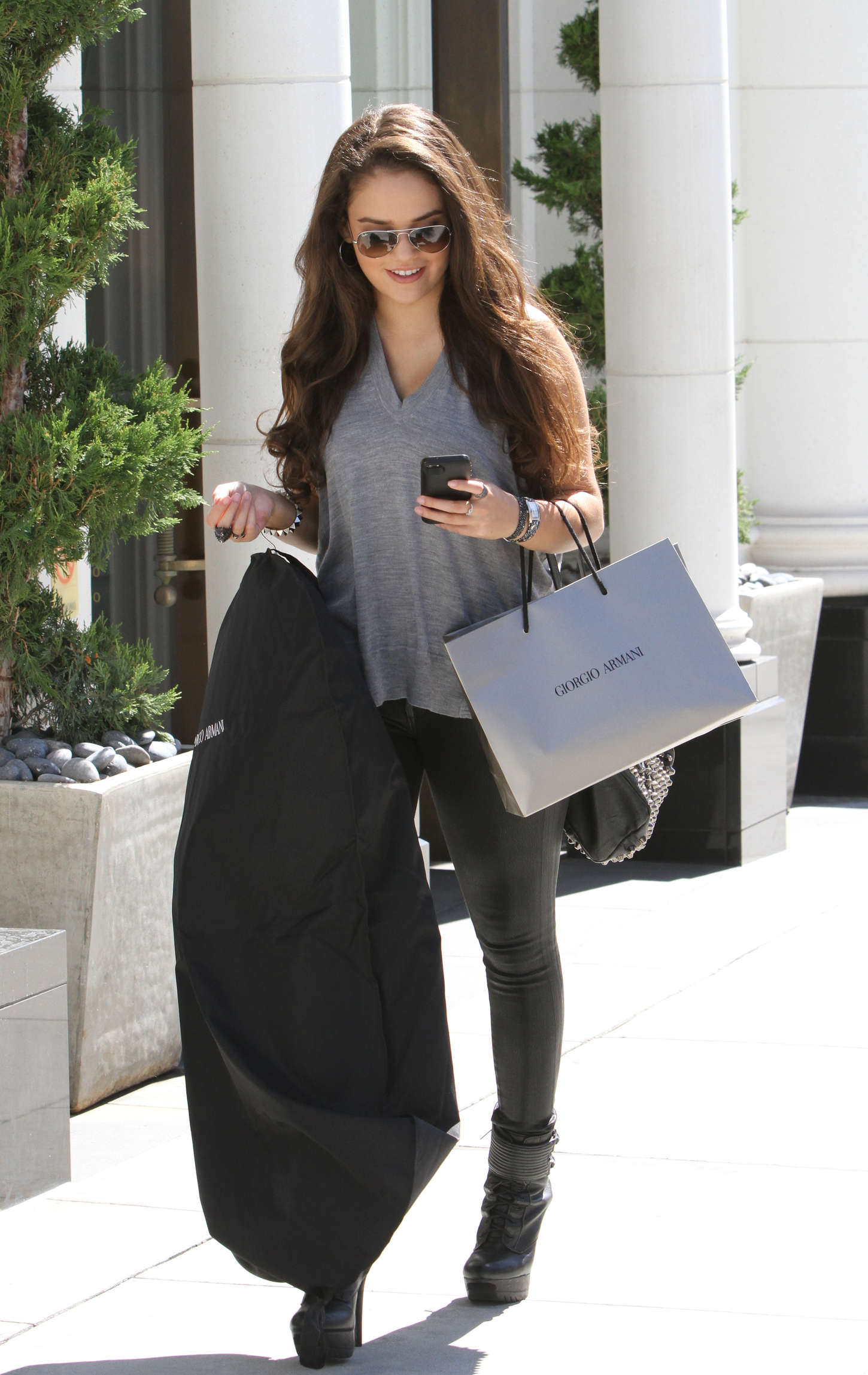 Madison Pettis Rodeo Drive in Beverly Hills