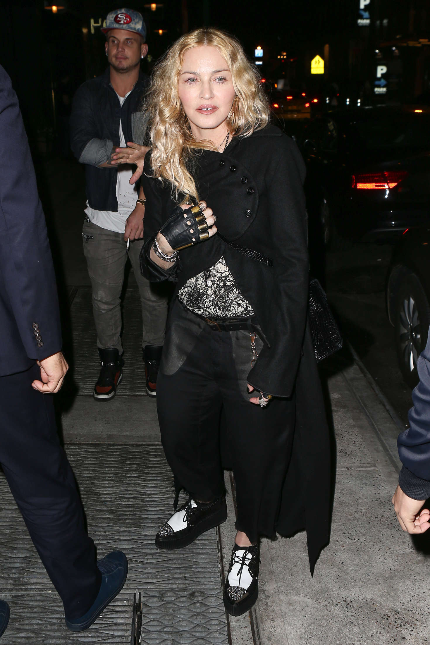 Madonna at Dirty French out in New York