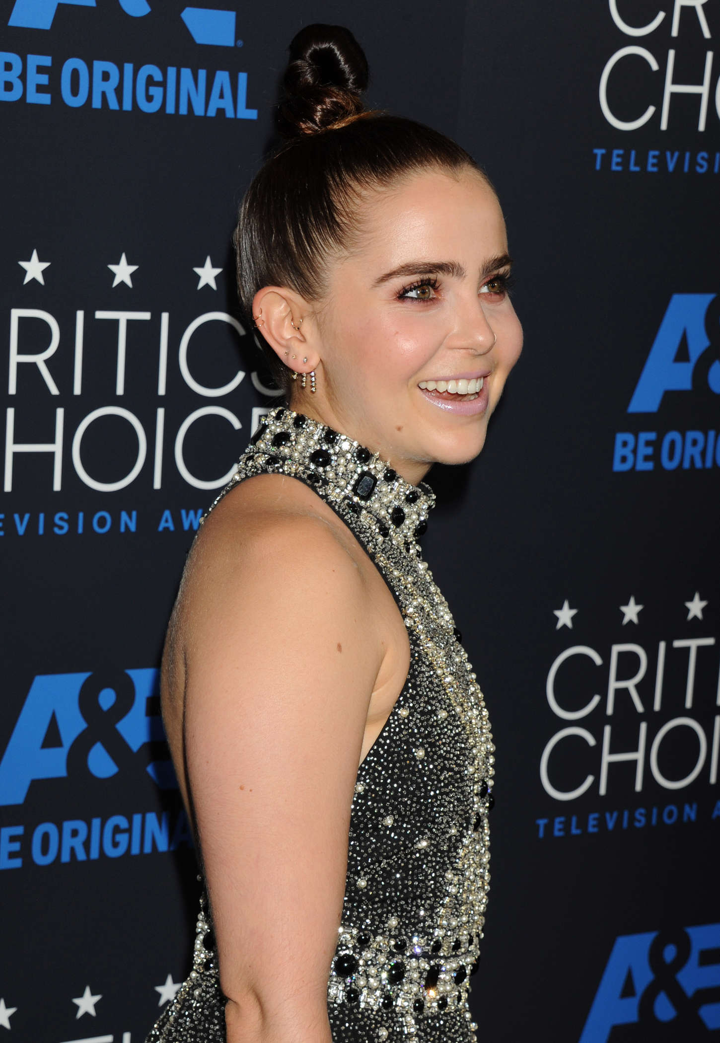 Mae Whitman Annual Critics Choice Television Awards in Beverly Hills