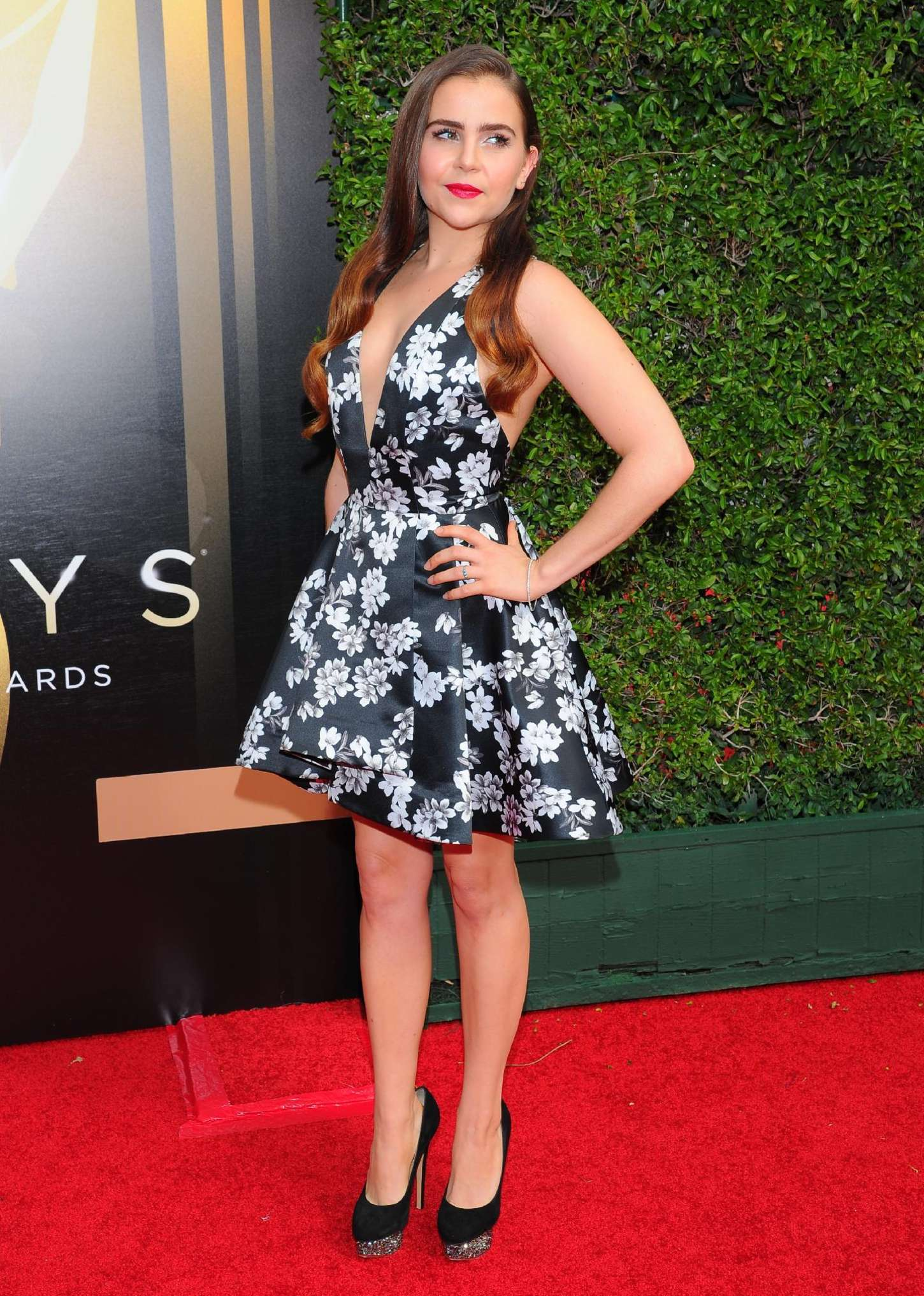 Mae Whitman Creative Arts Emmy Awards in Los Angeles