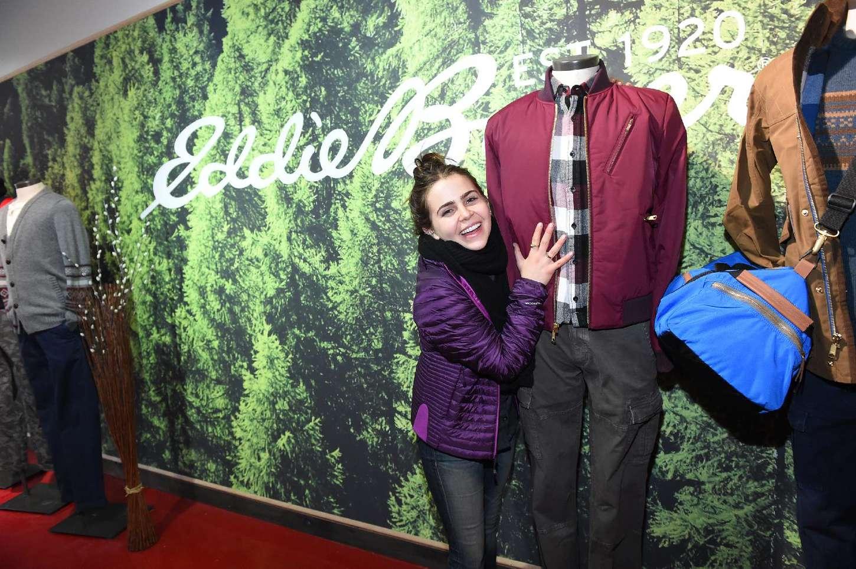 Mae Whitman Eddie Bauer Adventure House at Sundance in Park City
