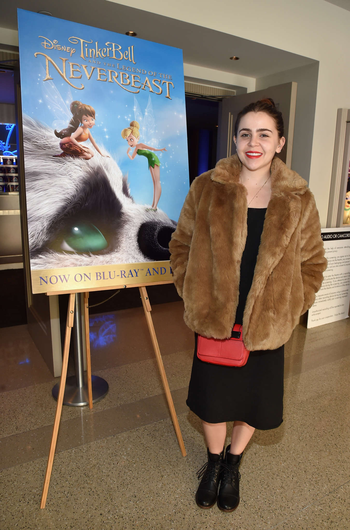 Mae Whitman Tinker Bell and the Legend of the Neverbeast Screening in Burbank