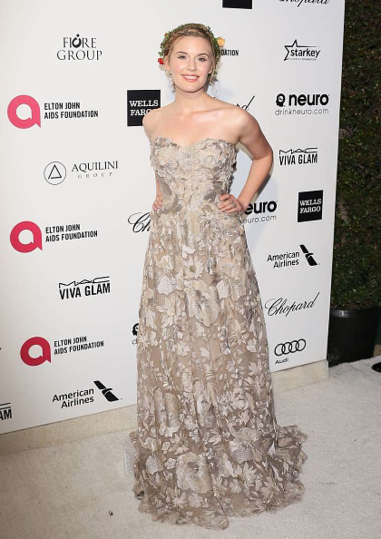 Maggie Grace Annual Elton John AIDS Foundation Academy Awards Viewing Party in Los Angeles