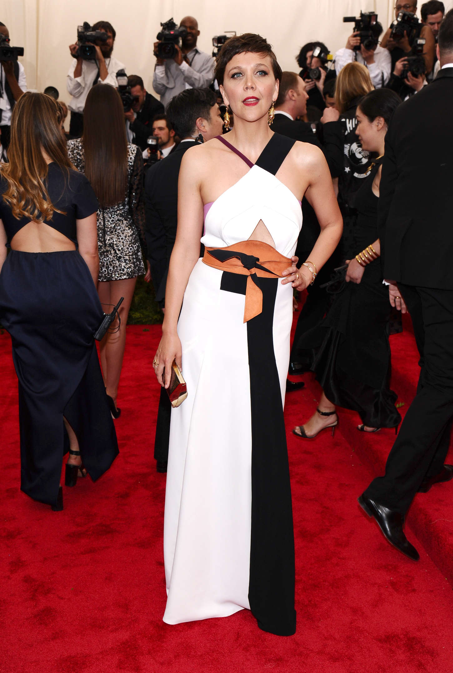 Maggie Gyllenhaal China Through The Looking Glass Costume Institute Benefit Gala in New York