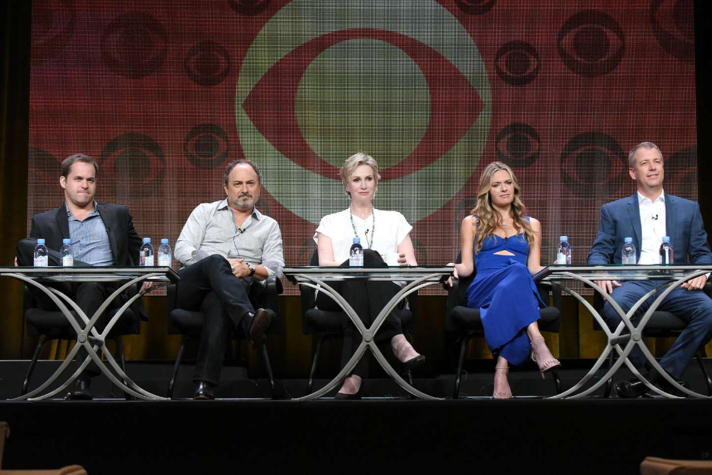 Maggie Lawson Angel from Hell Panel Summer TCA Tour in Beverly Hills
