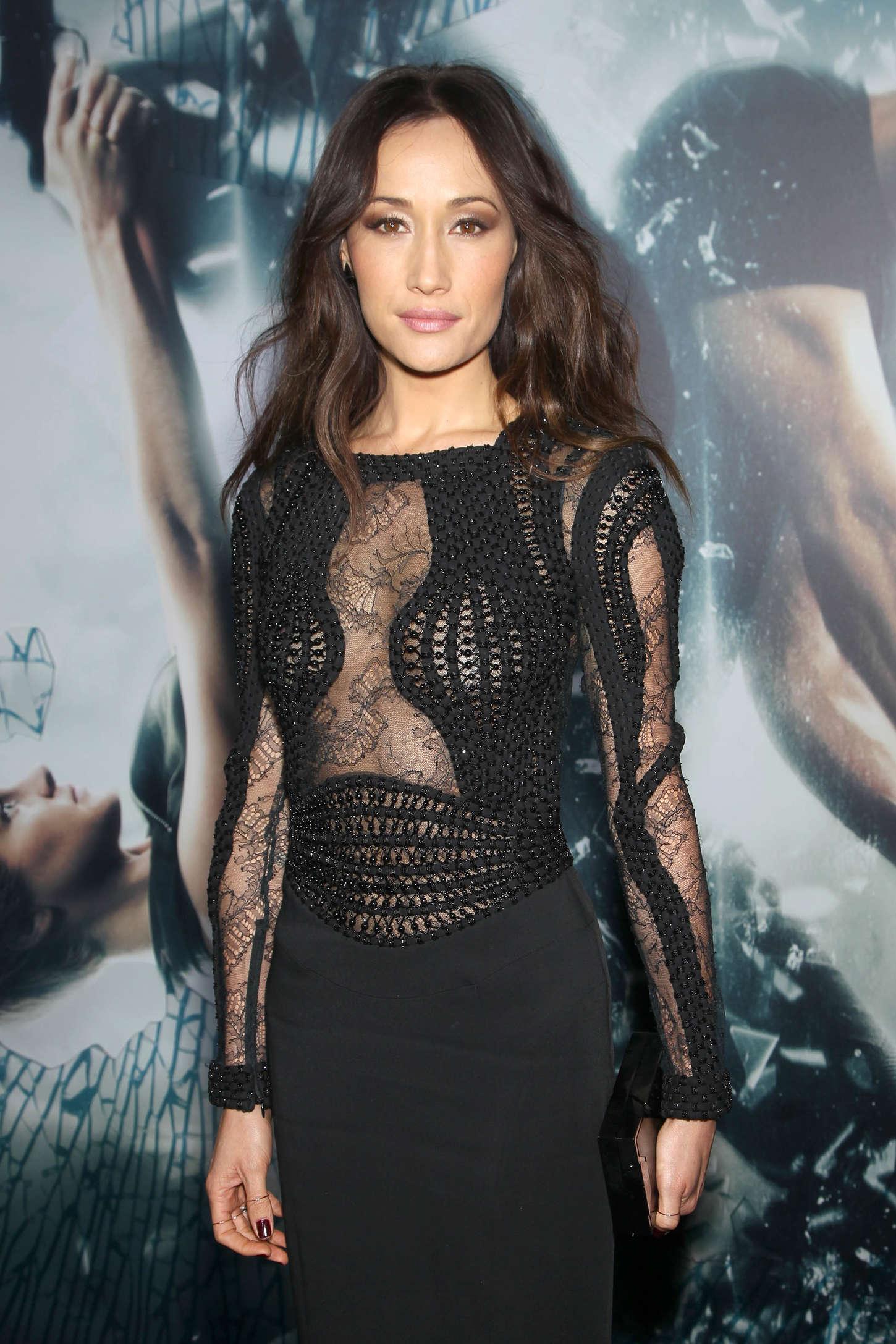 Maggie Q Insurgent Premiere in New York