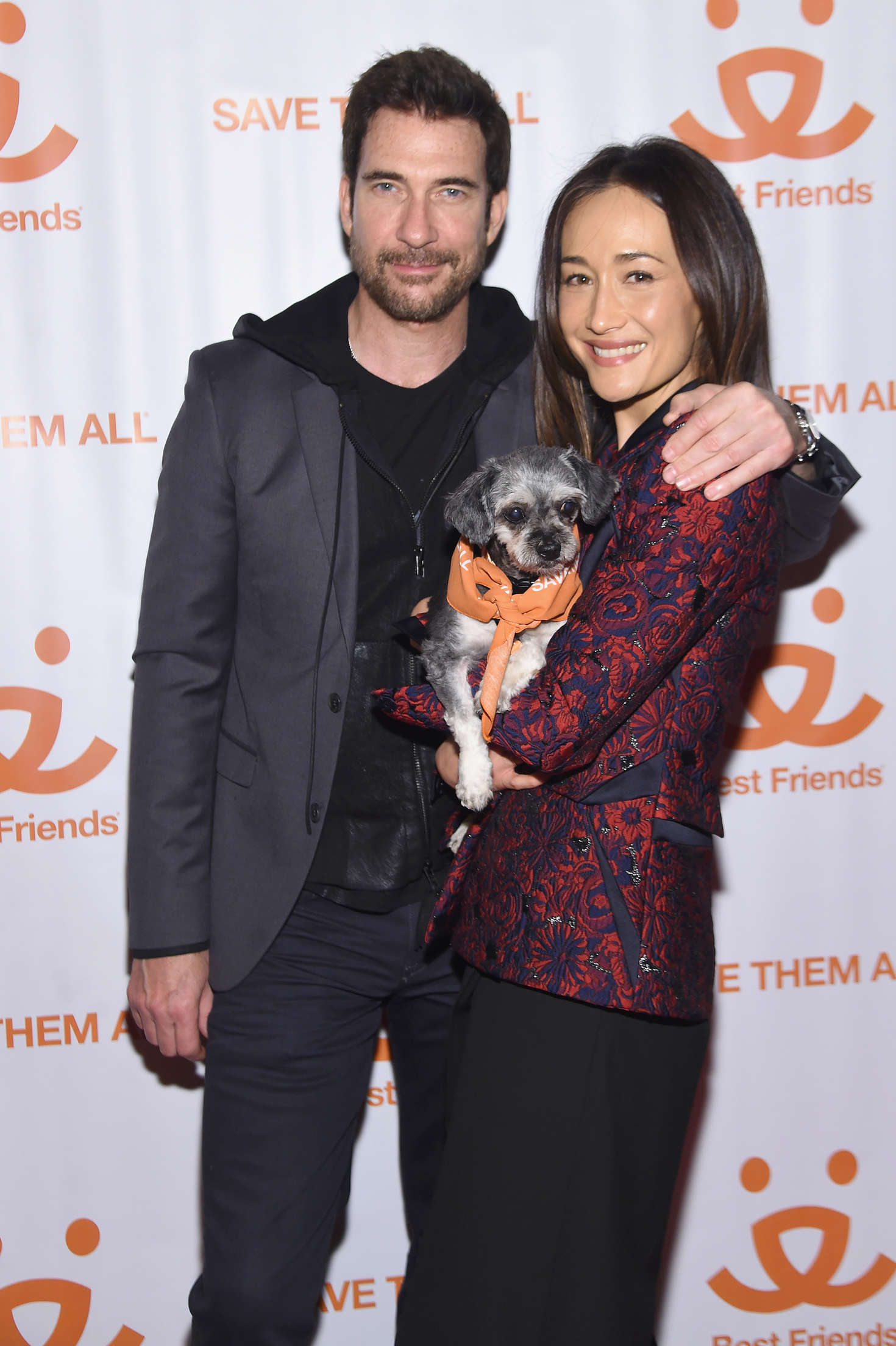 Maggie Q New York Notables Gathering at the Best Friends Animal Society Benefit to Save Them All in New York