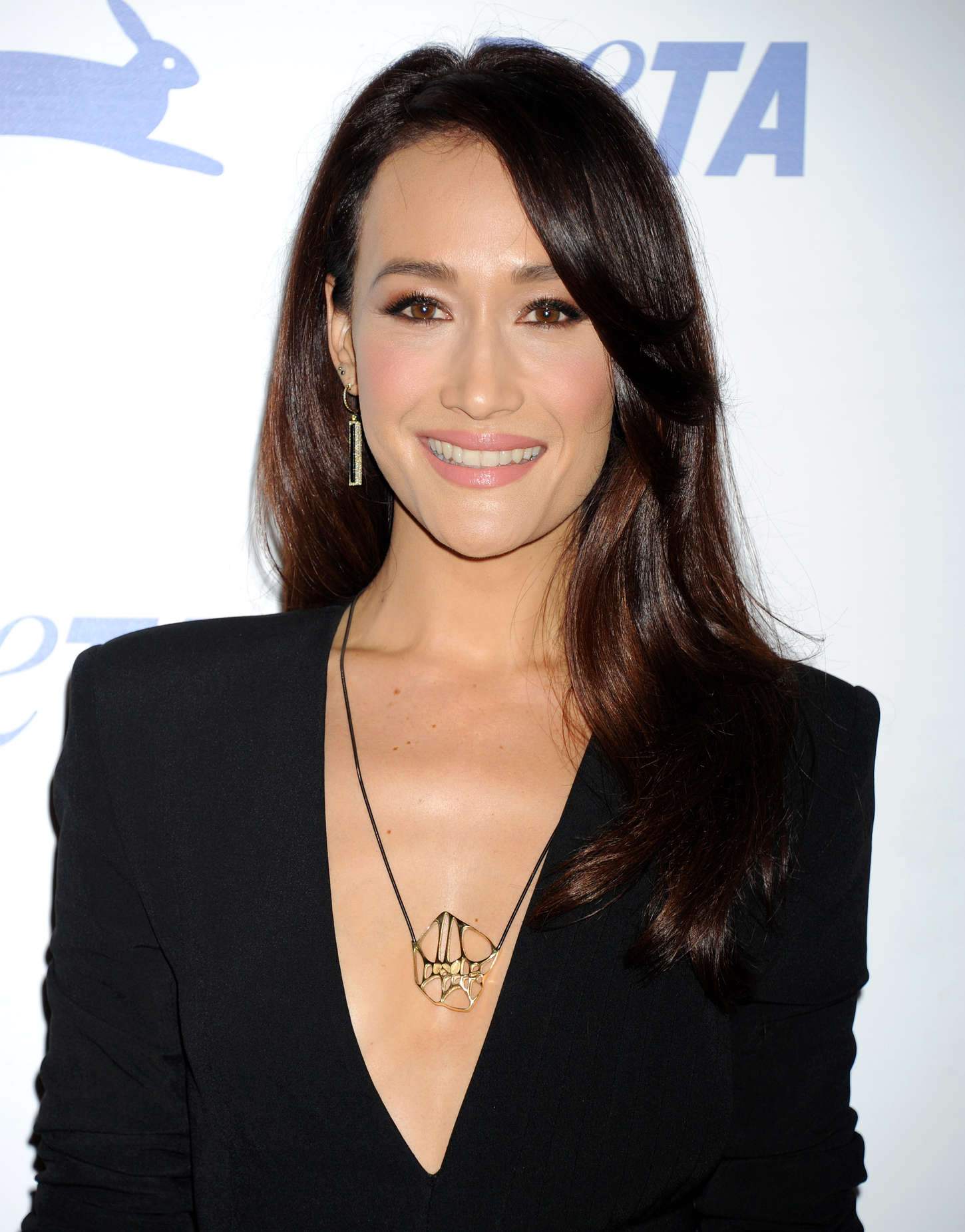 Maggie Q PETAs Anniversary Party in Los Angeles