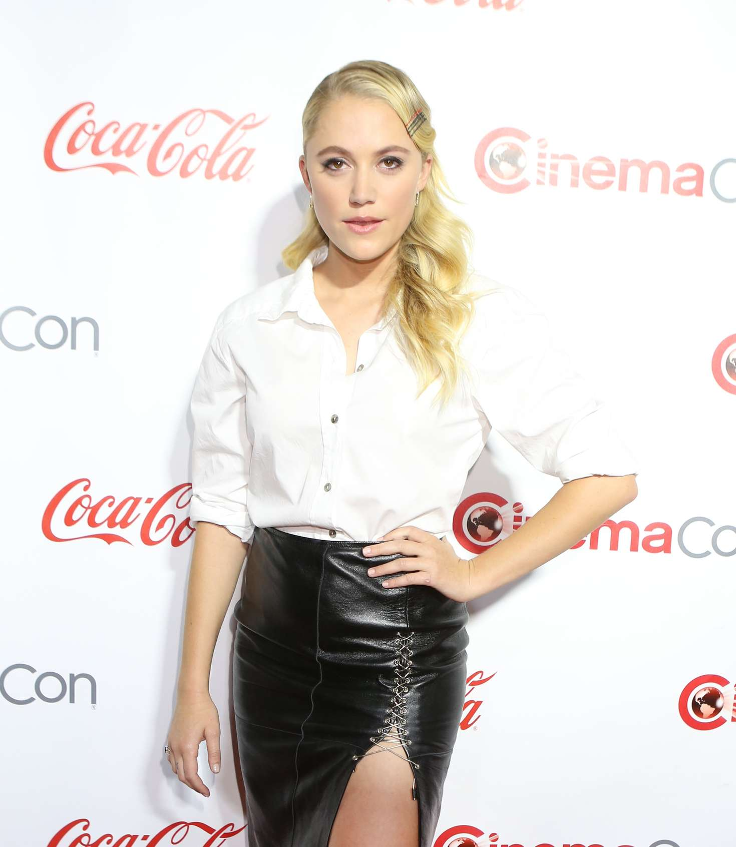 Maika Monroe Big Screen Achievement Awards at CinemaCon in Las Vegas