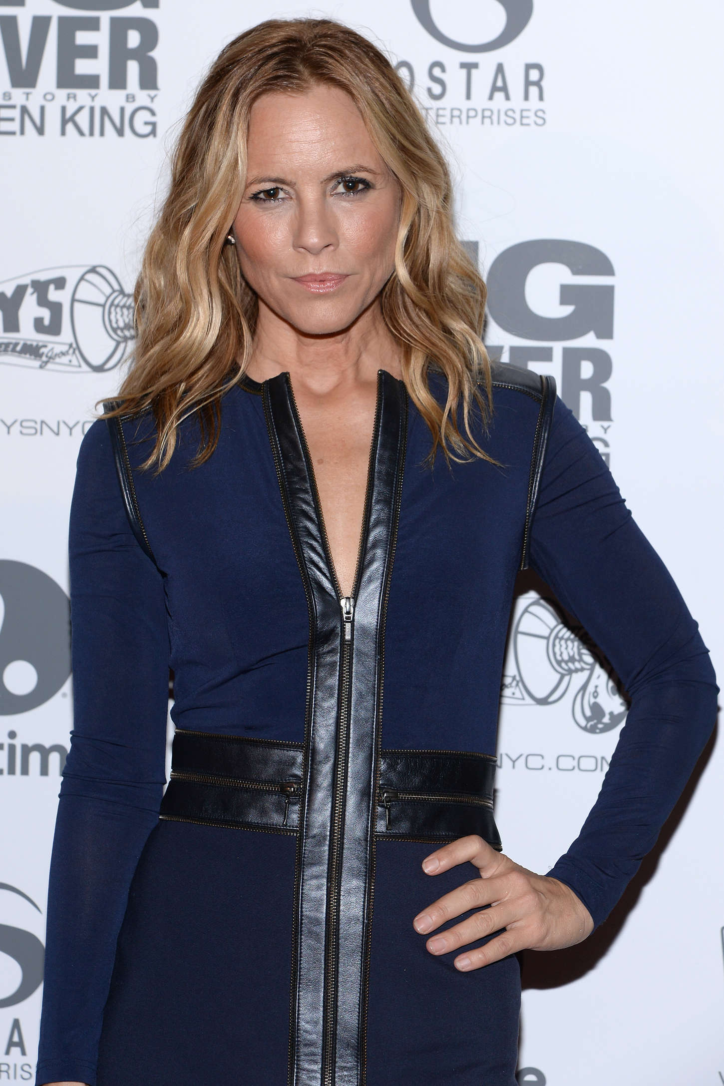 Maria Bello at Premiere Big Drive in New York
