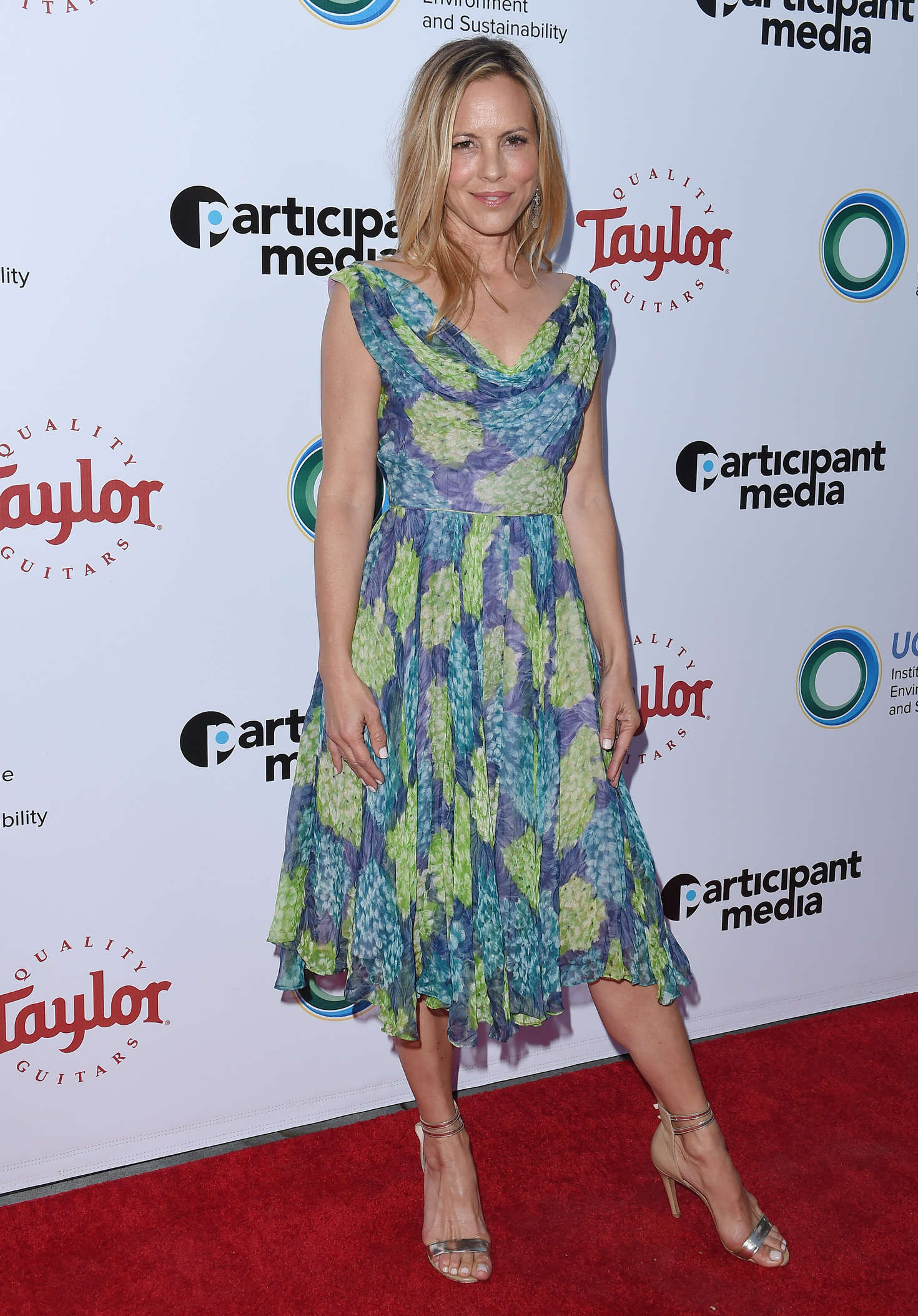 Maria Bello UCLA Institute of the Environment and Sustainability Gala in Beverly Hills
