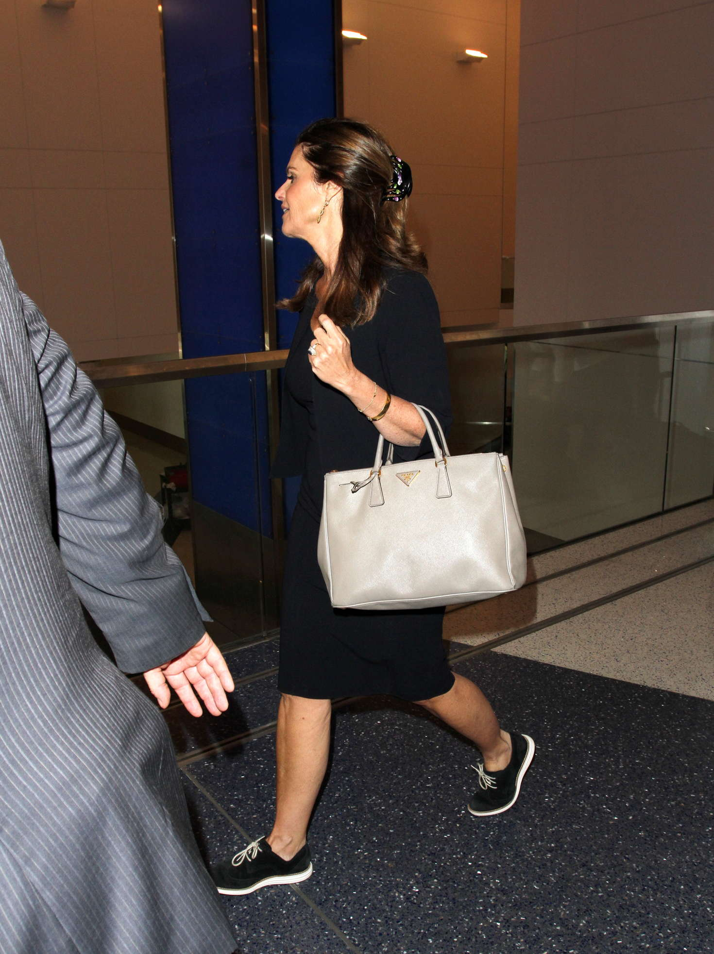Maria Shriver at LAX Airport in Los Angeles