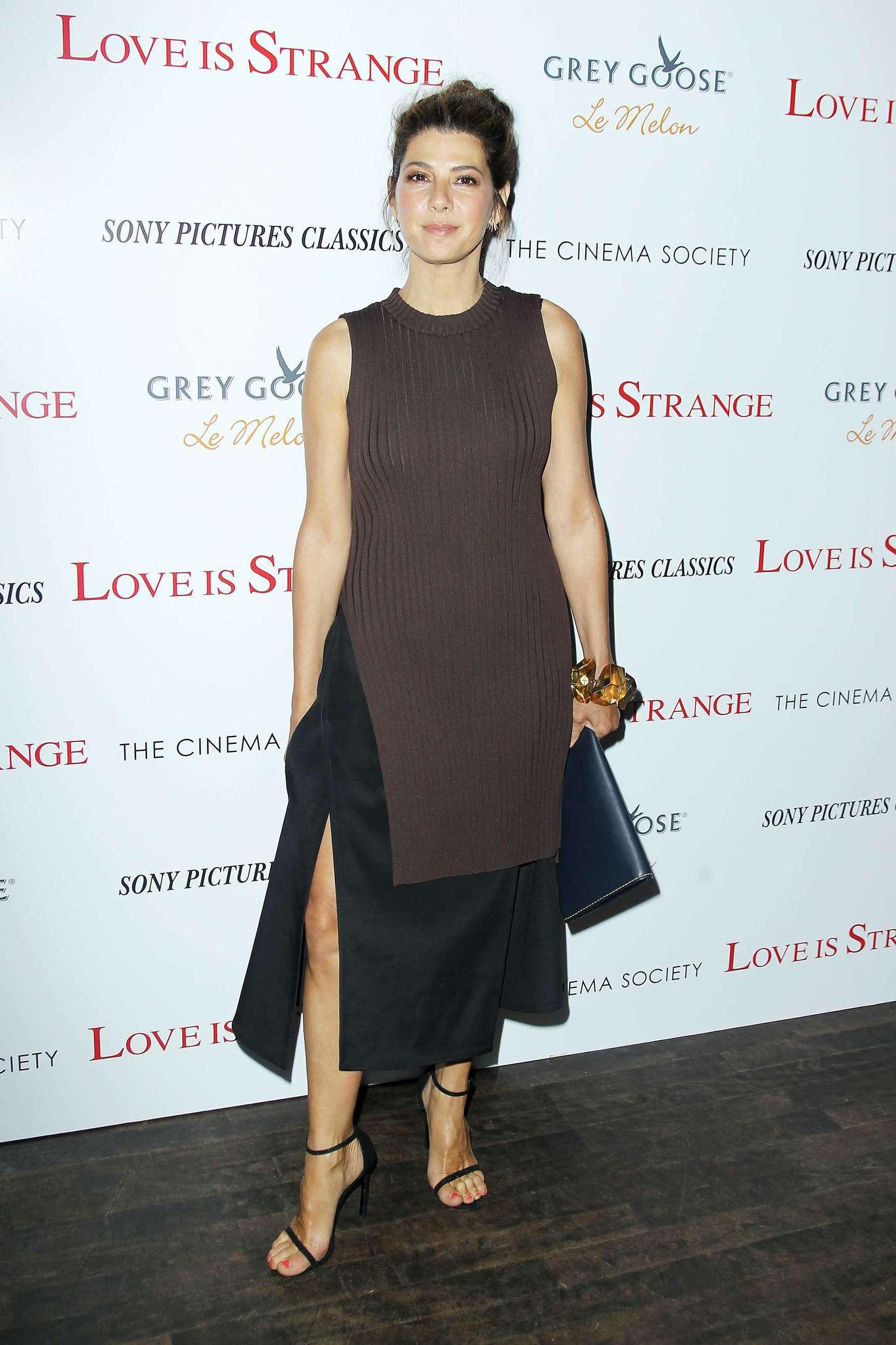 Marisa Tomei Love Is Strange Screening in New York City