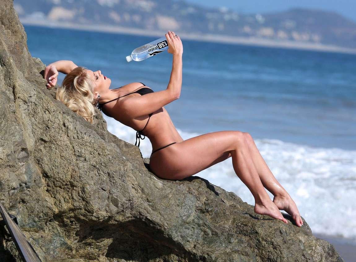 Marissa Everhart Water Bikini Photoshoot in Malibu