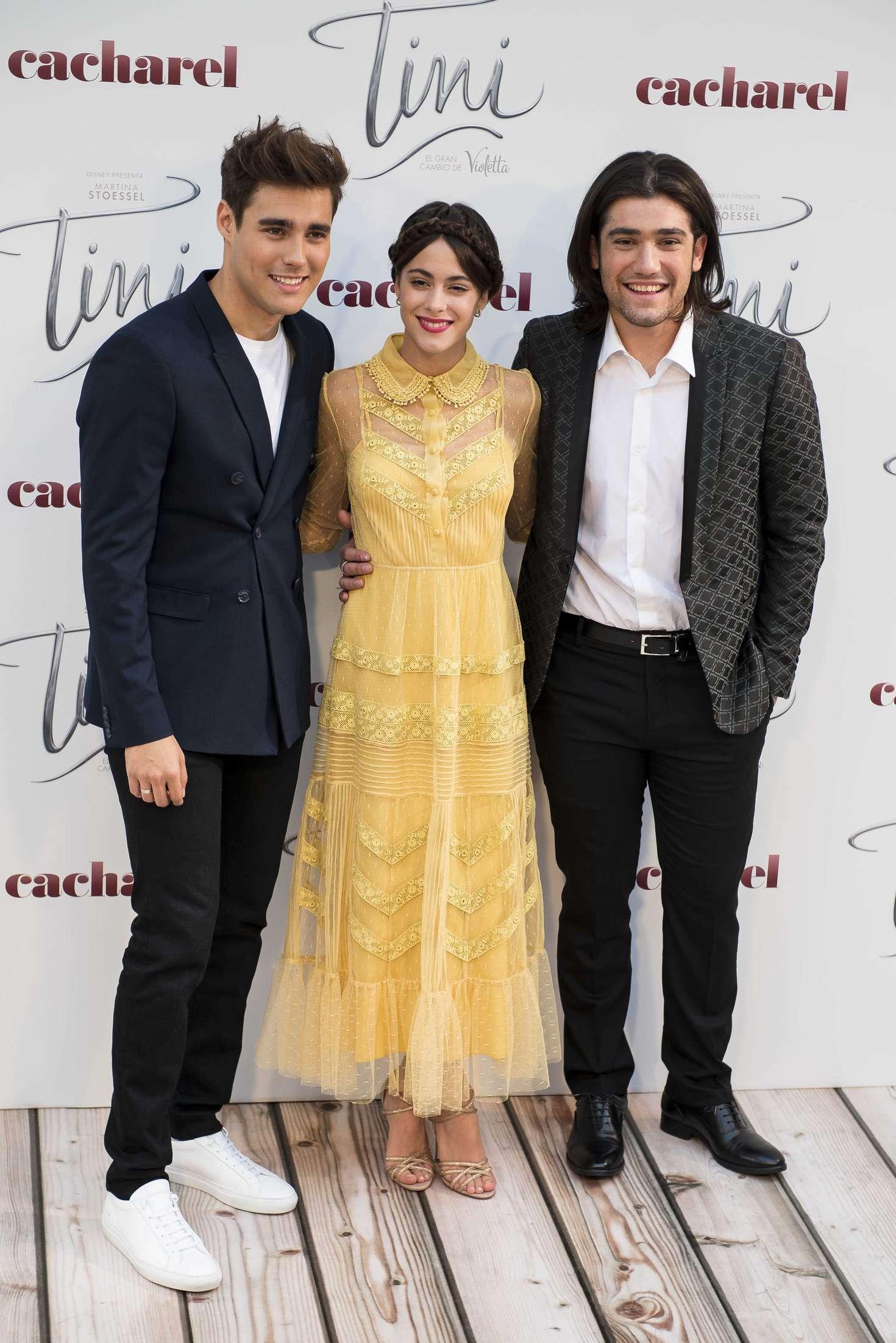 Martina Stoessel Tini El Gran Cambio De Violetta Premiere in Spain