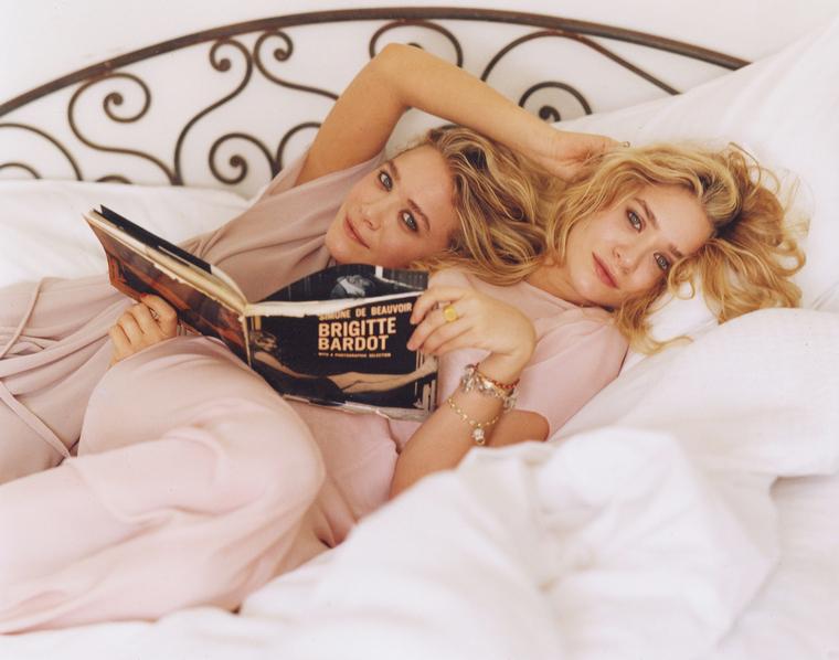 Mary-Kate and Ashley Olsen Vogue Magazine