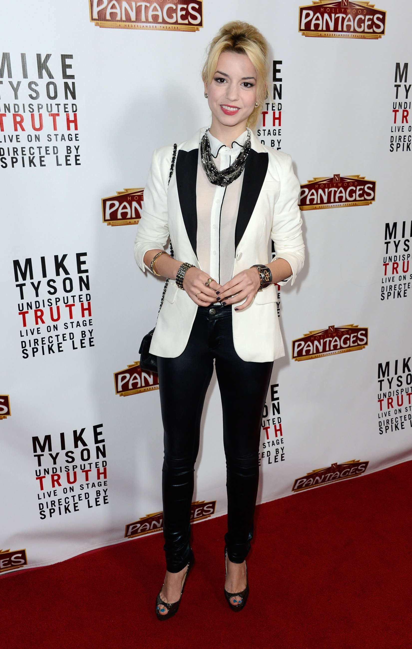 "Masiela Lusha ""Mike Tyson Undisputed Truth"" Opening Night in Hollywood"