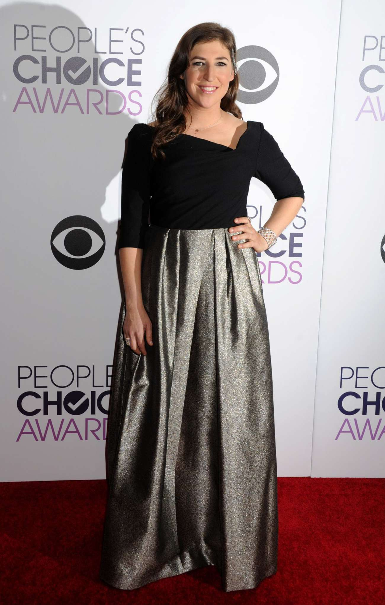 Mayim Bialik Annual Peoples Choice Awards in Los Angeles