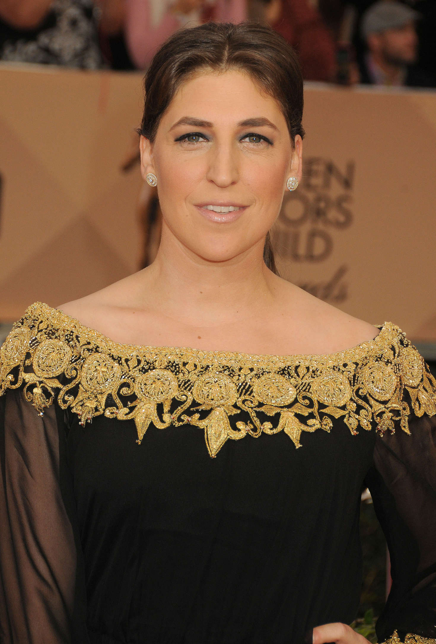 Mayim Bialik Annual Screen Actors Guild Awards in Los Angeles