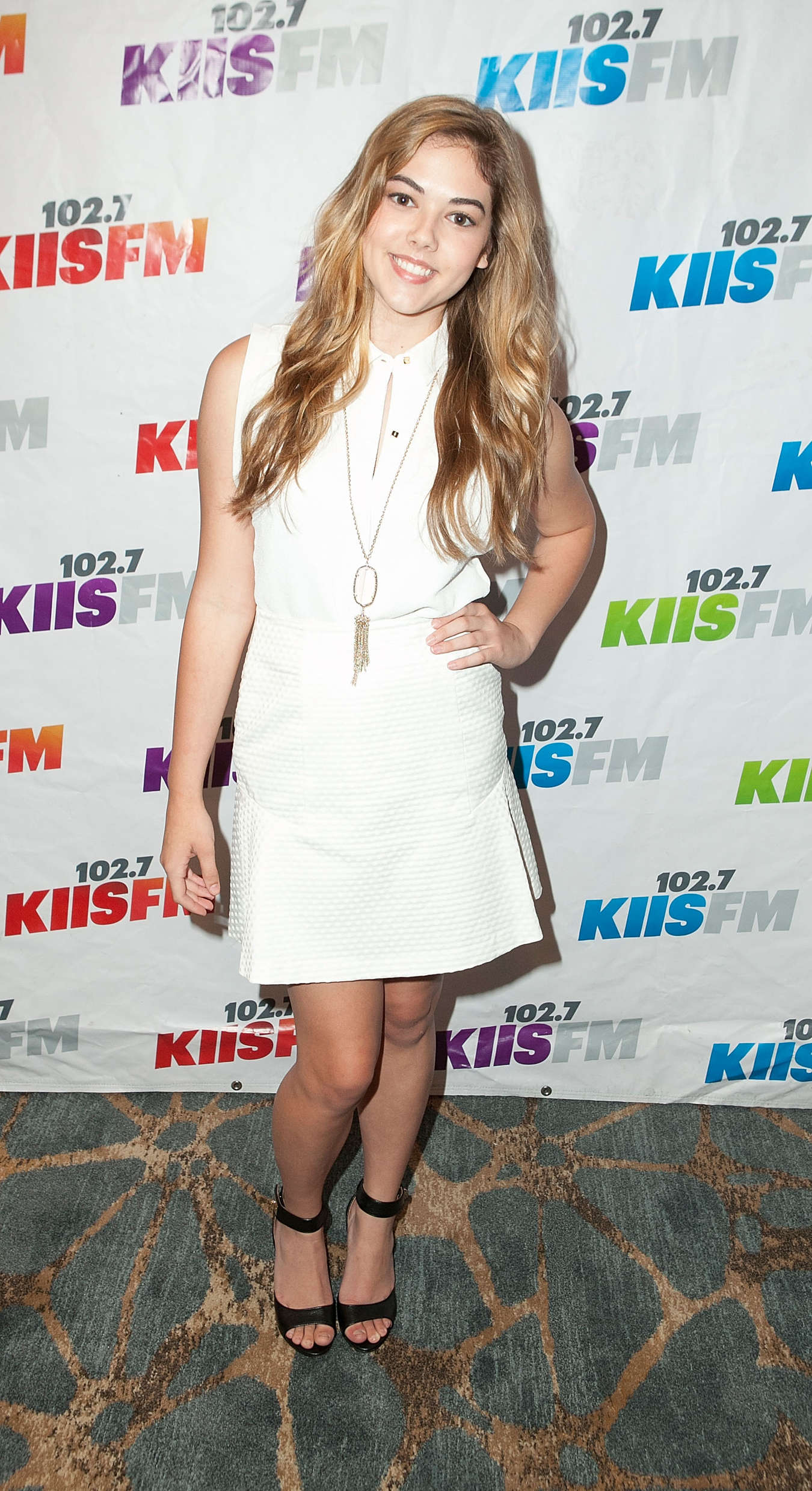 McKaley Miller KIIS FMs Teen Choice Pre-Party
