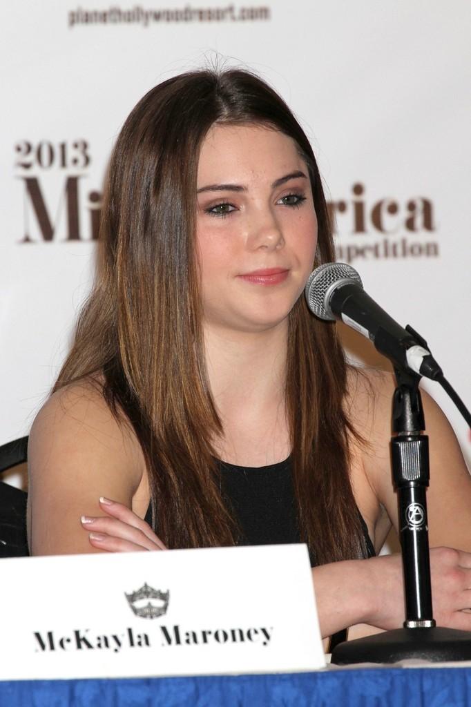 McKayla Maroney Miss America Judges Press Conference