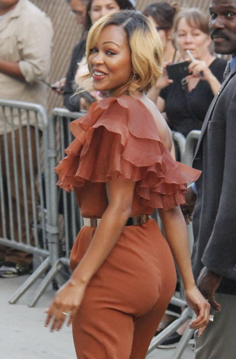 Meagan Good at Jimmy Kimmel Live in Hollywood