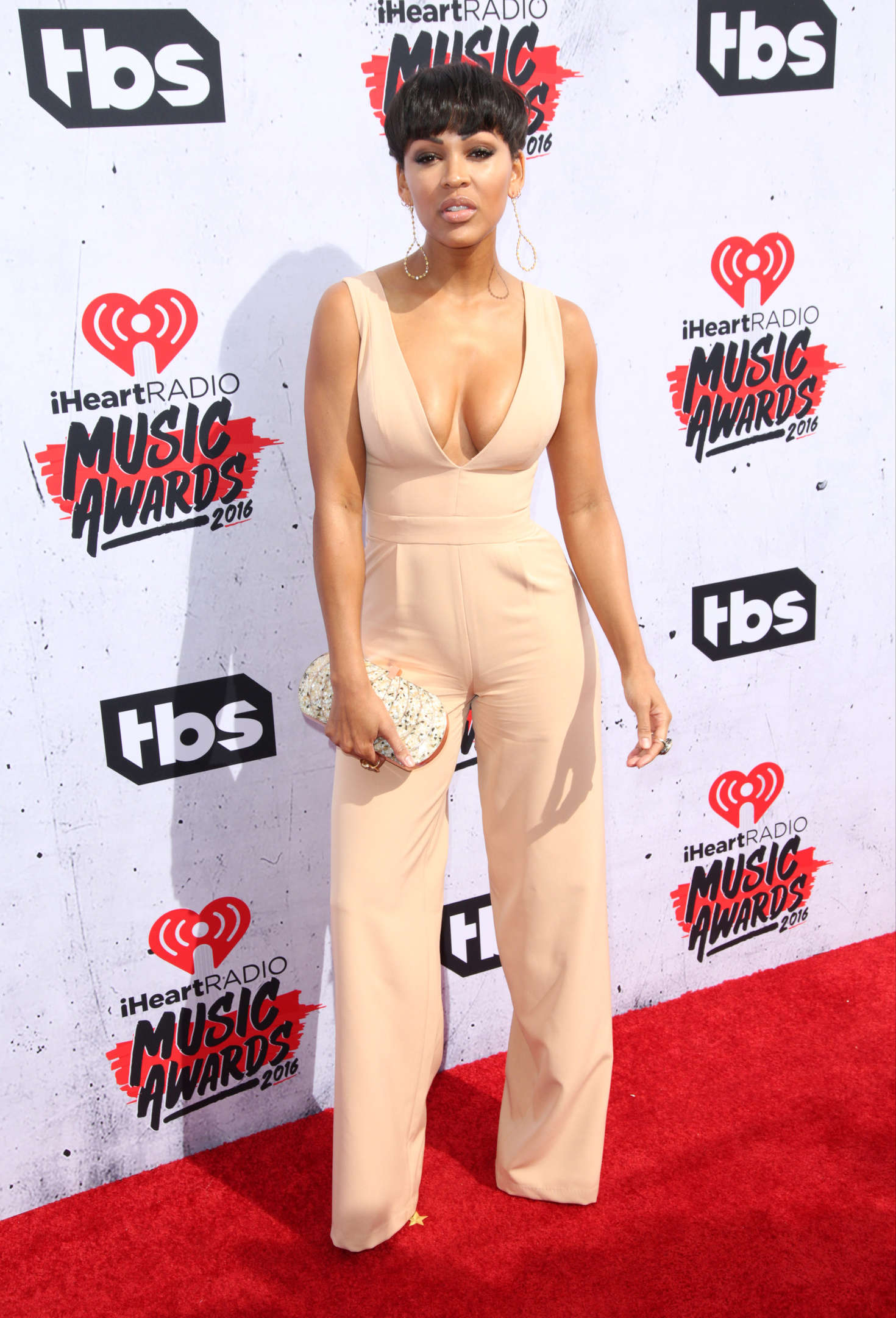 Meagan Good iHeartRadio Music Awards in Los Angeles