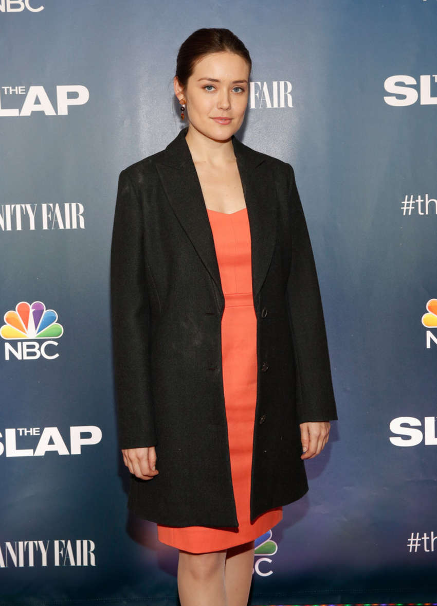 Megan Boone The Slap Premiere In New York Celebrity Wiki