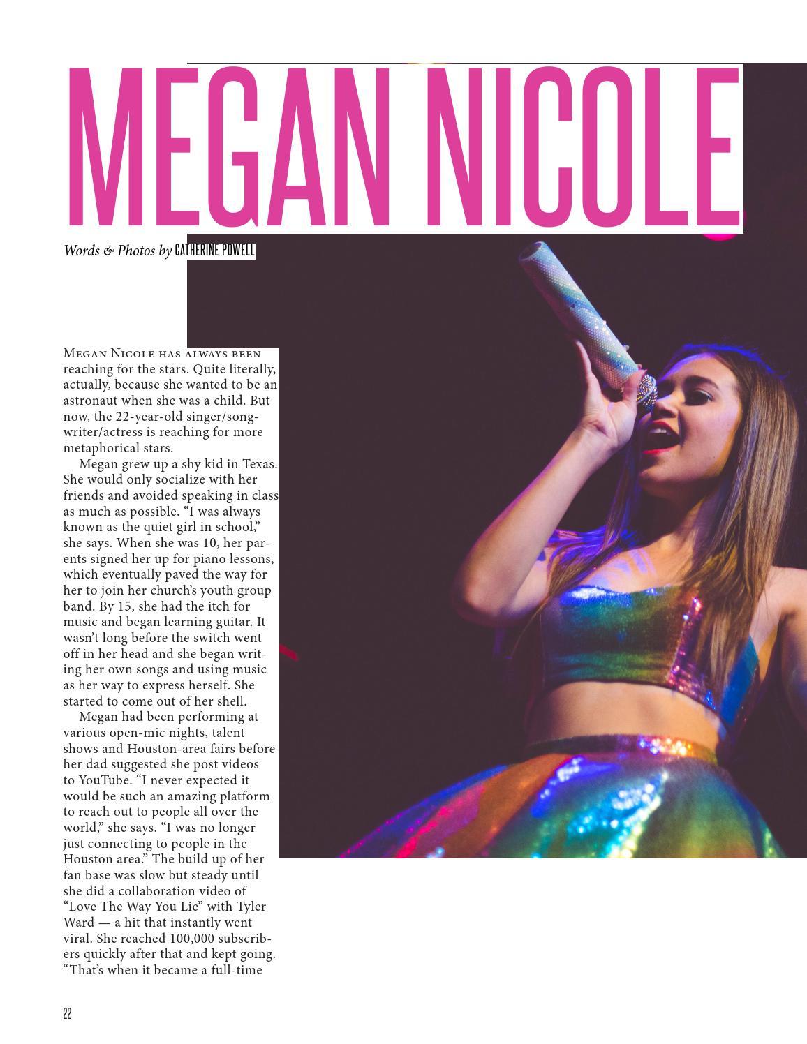 Megan Nicole NKD Magazine