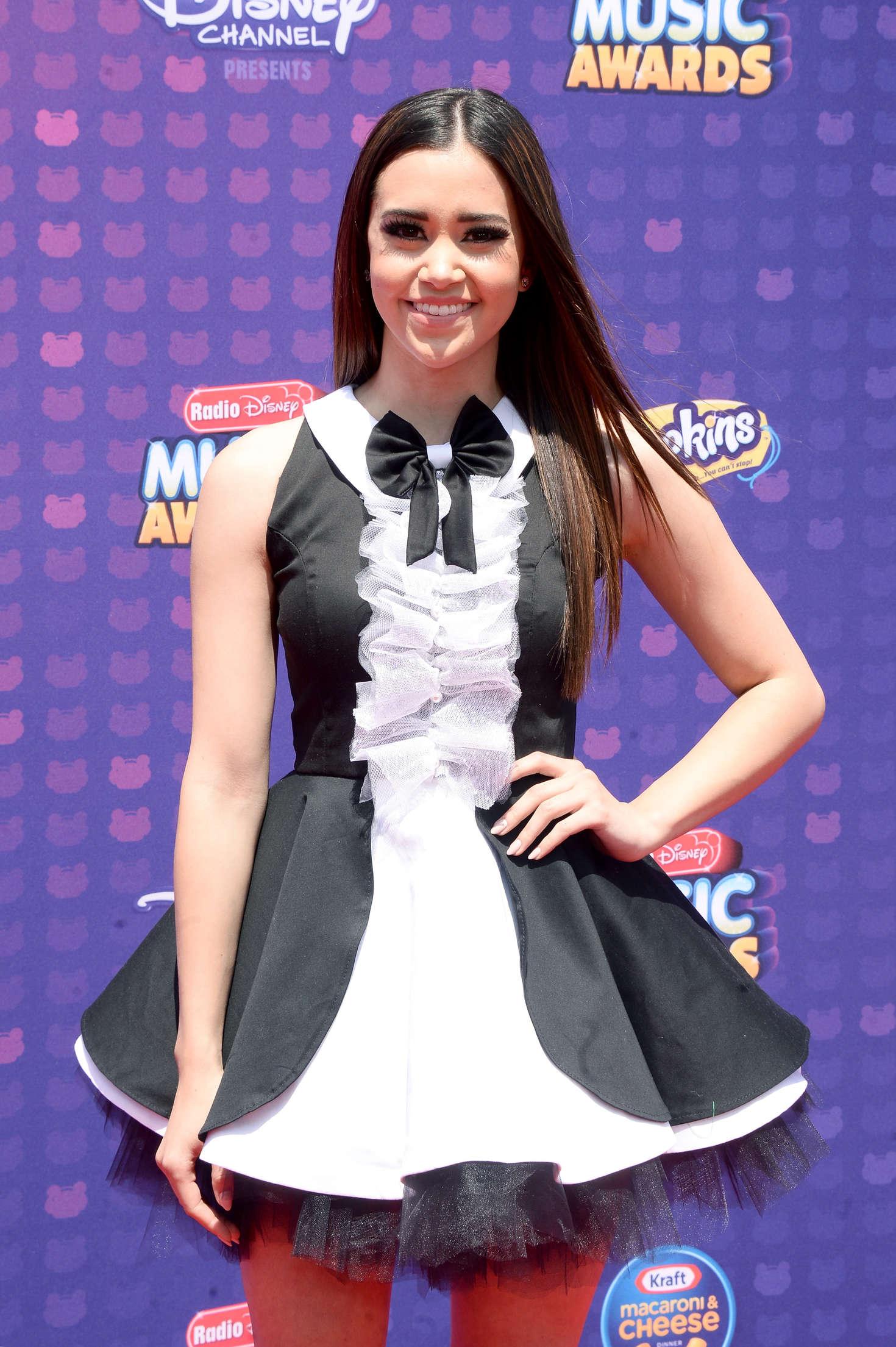 Megan Nicole Radio Disney Music Awards in Los Angeles