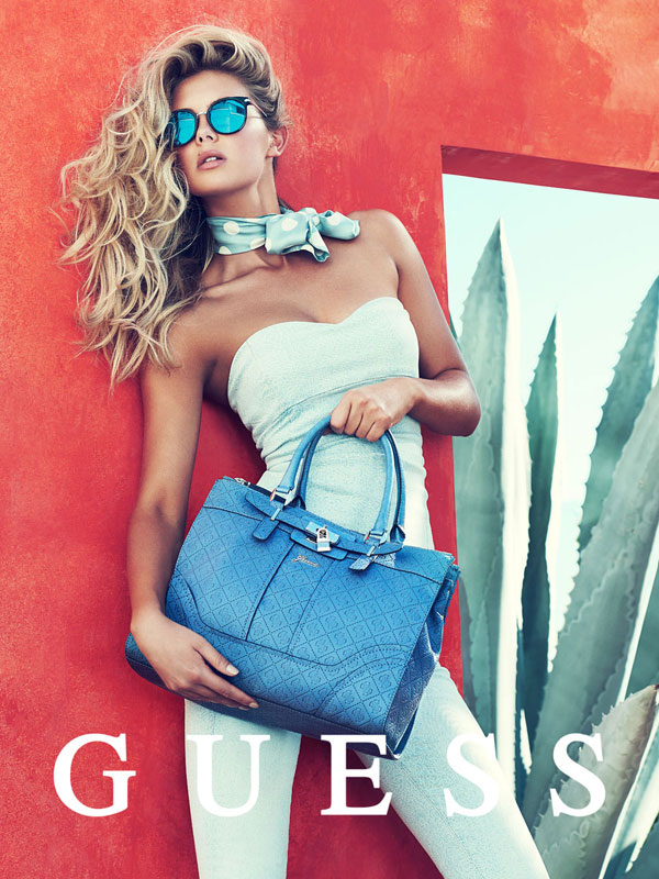 Megan Williams Guess Accessories Campaign