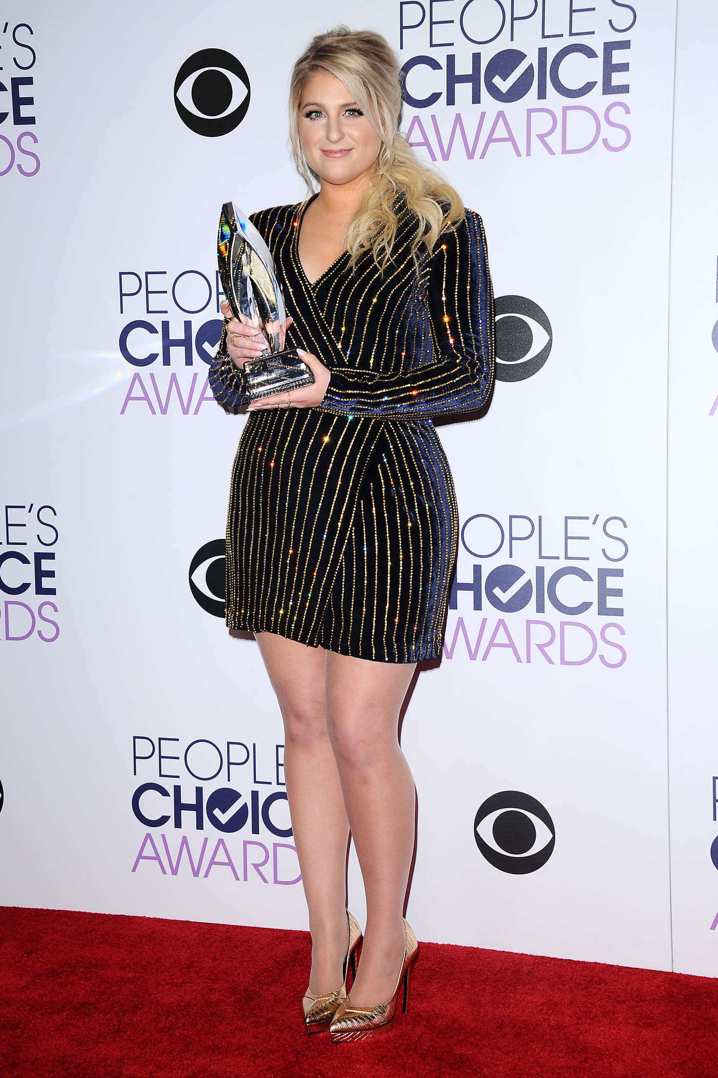 Meghan Trainor Peoples Choice Awards in Los Angeles-1