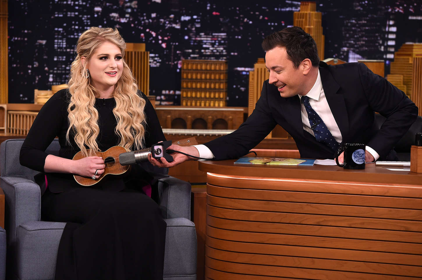Meghan Trainor The Tonight Show With Jimmy Fallon in New York-1