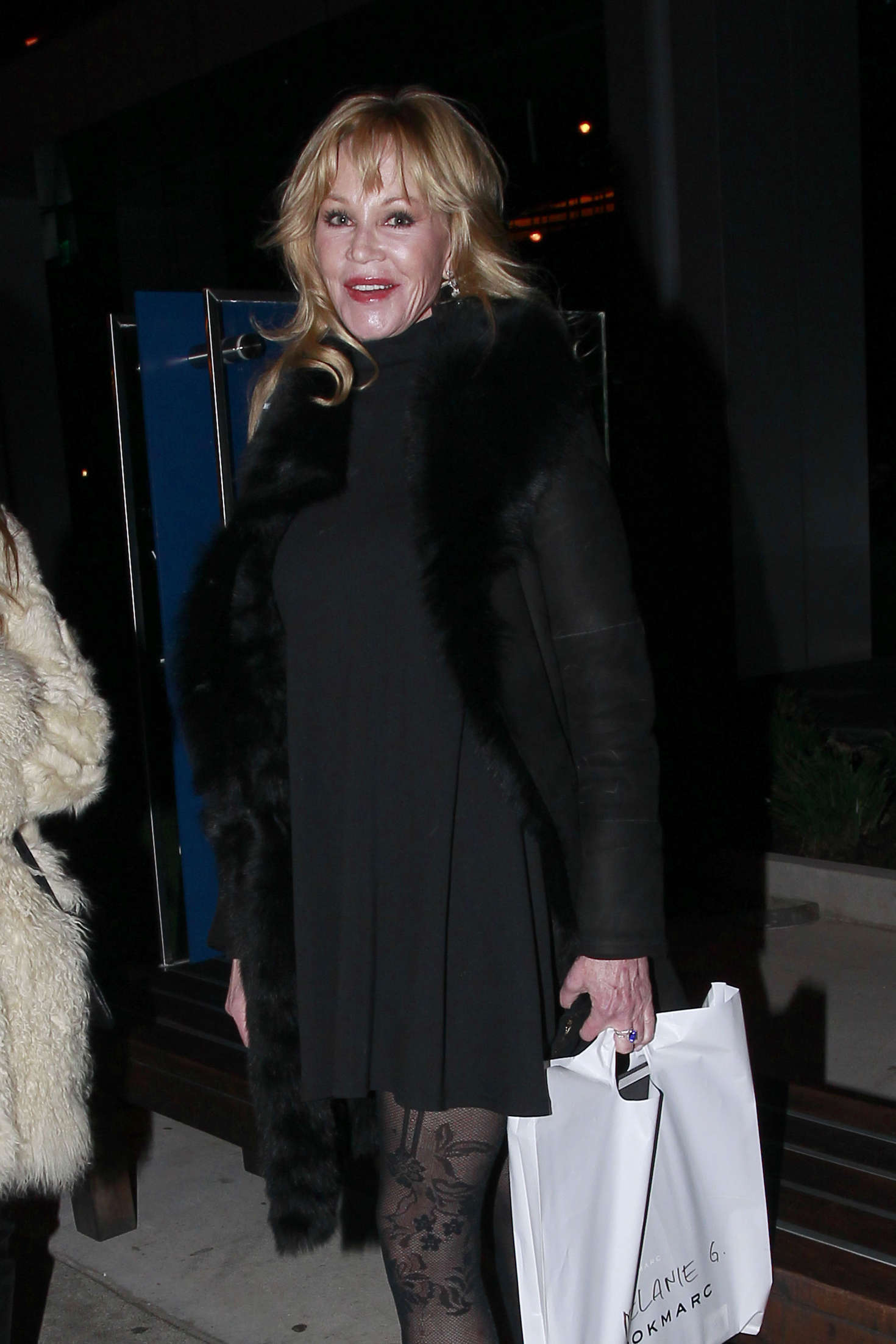 Melanie Griffith at BOA Steakhouse in Los Angeles
