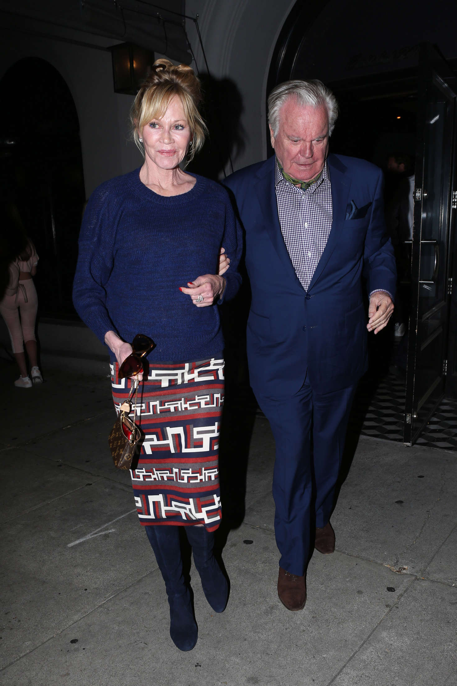 Melanie Griffith at Craigs Restaurant in West Hollywood
