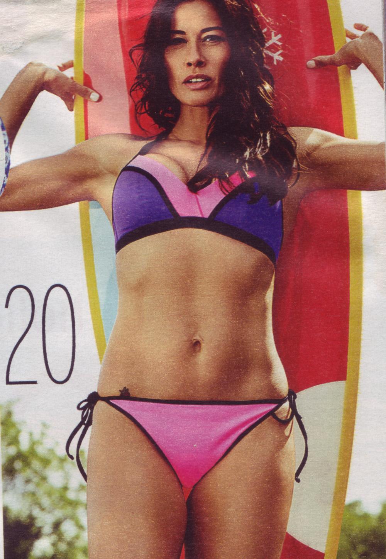 Melanie Sykes Fabulous Magazine