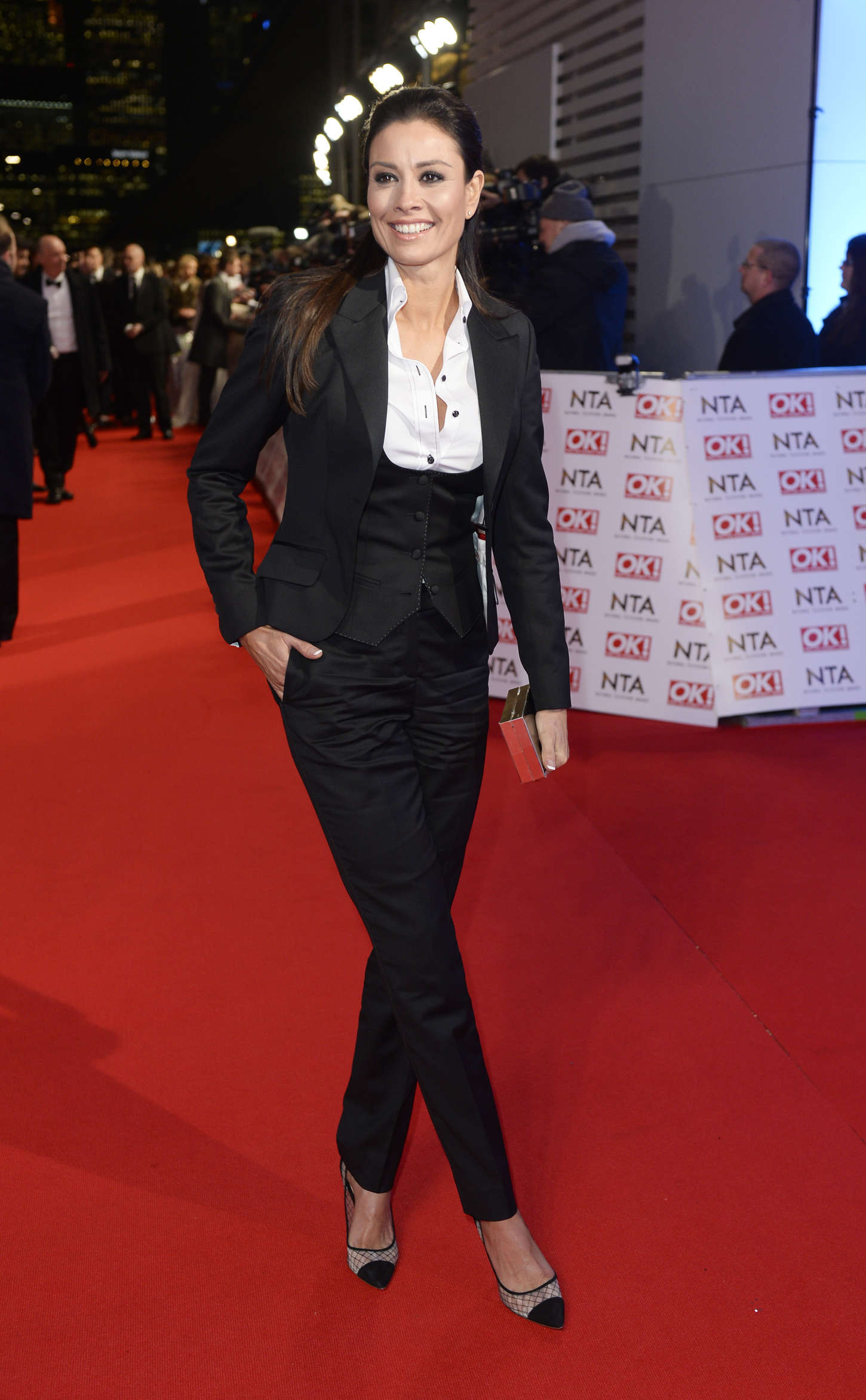 Melanie Sykes National Television Awards in London