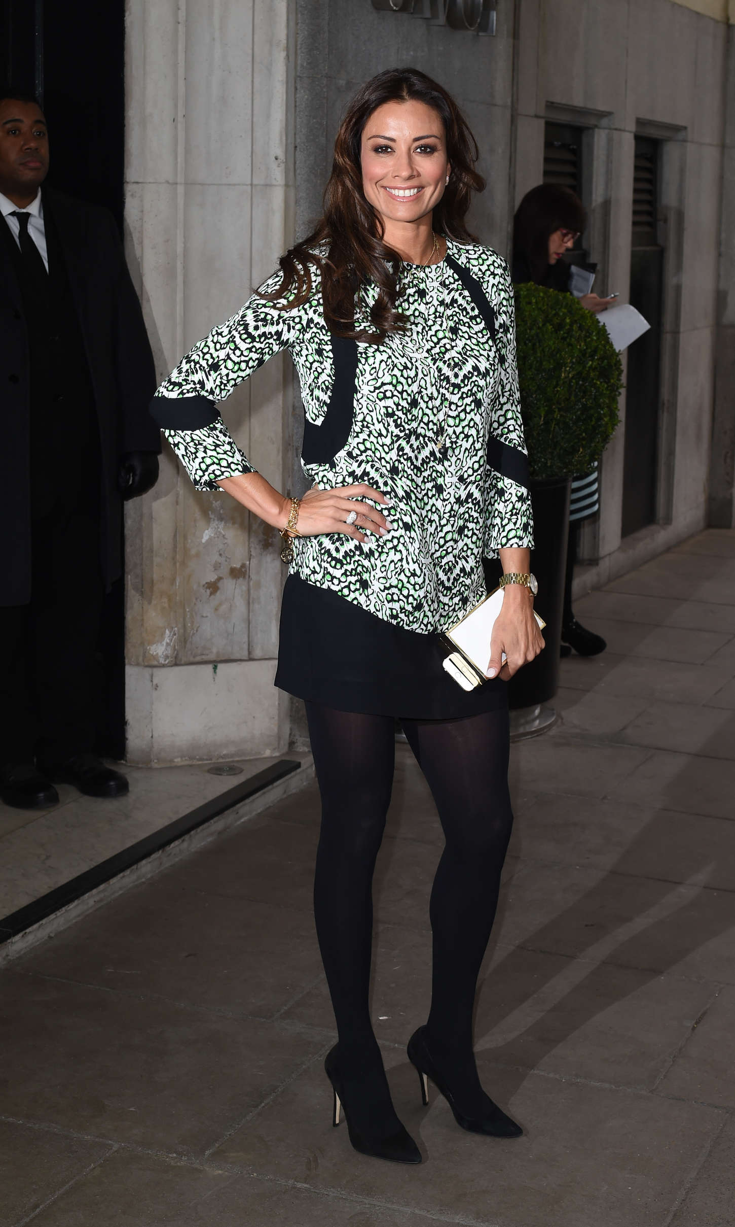 Melanie Sykes The Year Of Mexico Lunch in London