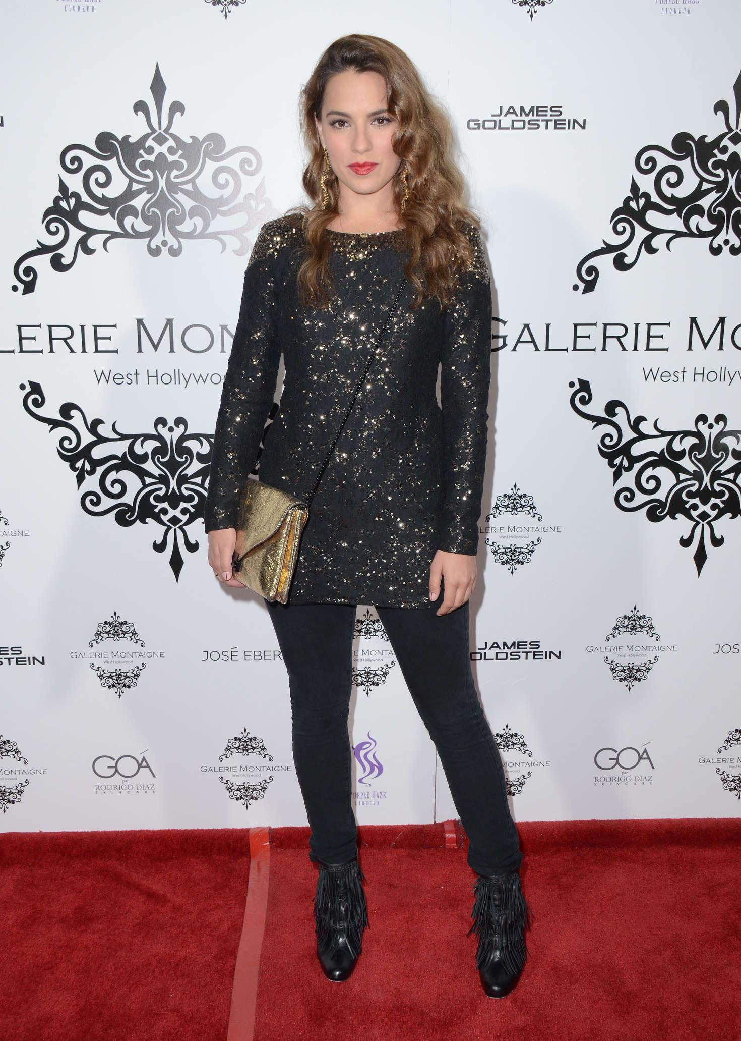 Melia Kreiling Galerie Montaigne Opening in Los Angeles