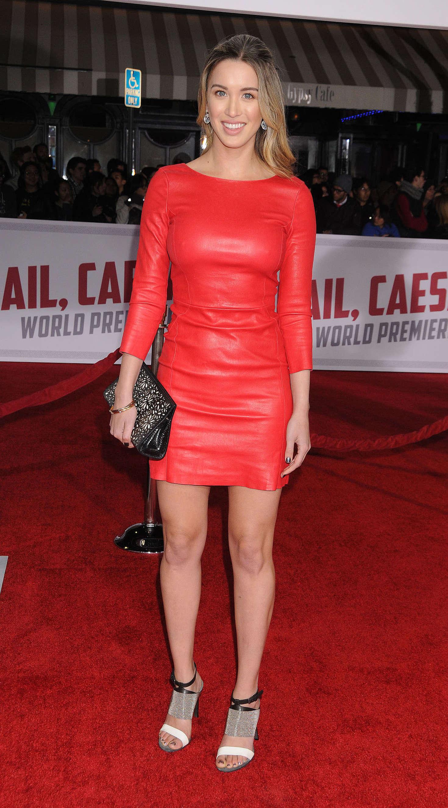 Melissa Bolona Hail Caesar Premiere in Westwood