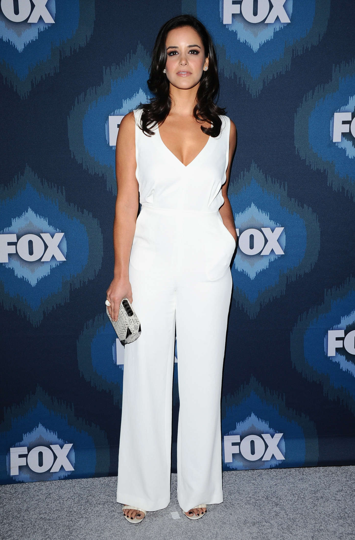Melissa Fumero Fox All-Star Party in Pasadena