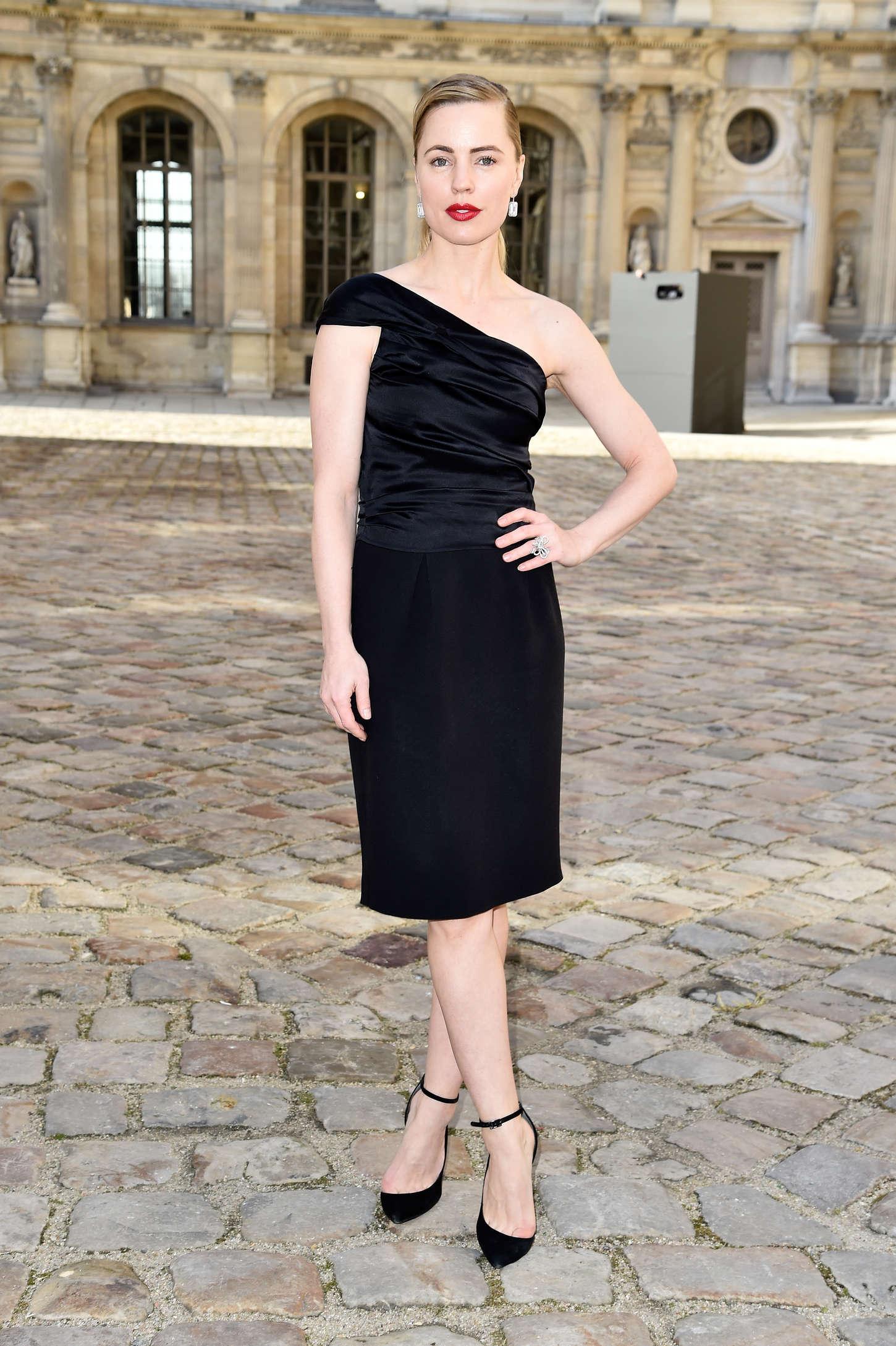 Melissa George Christian Dior Fashion Show in Paris