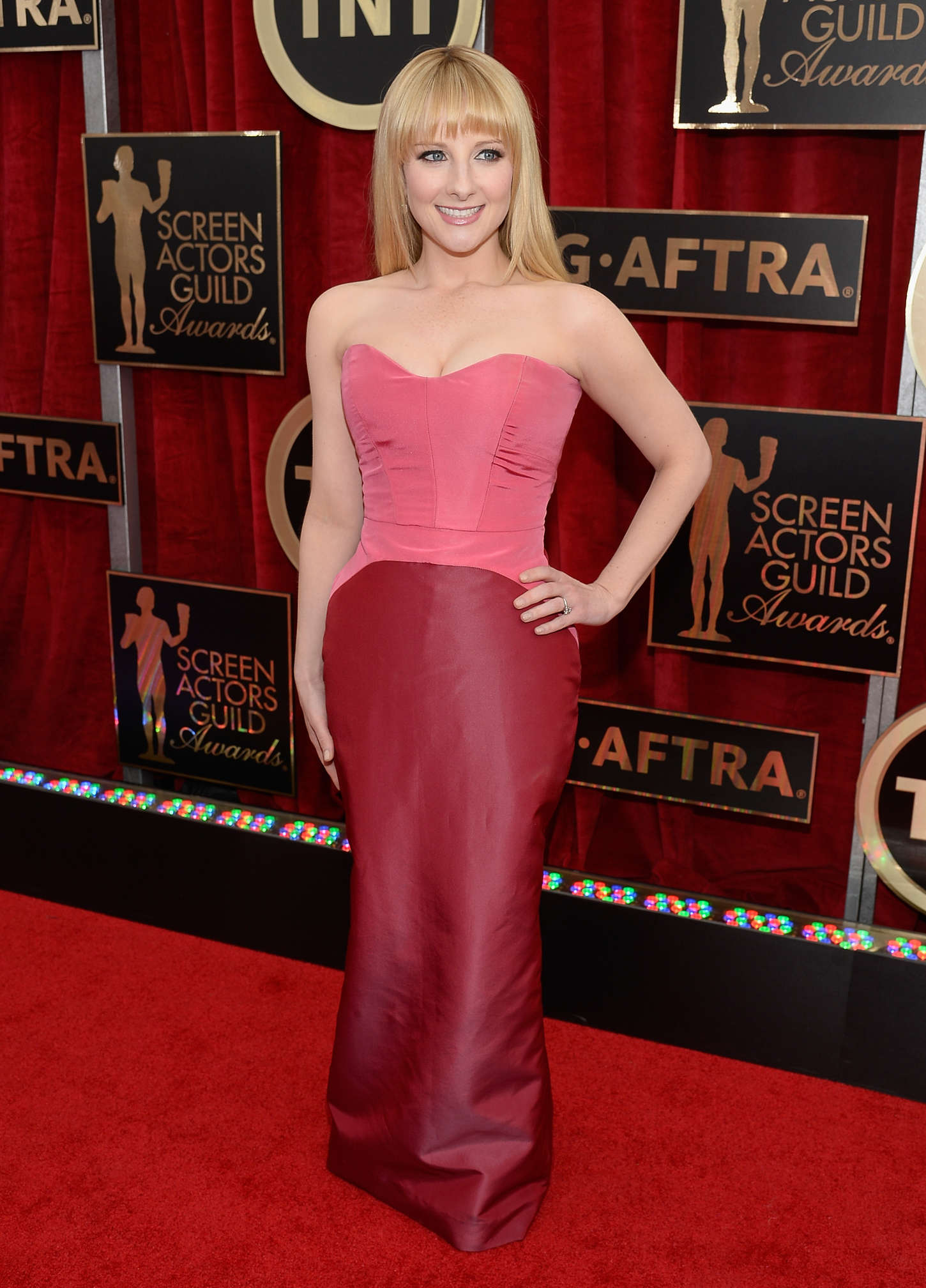 Melissa Rauch Annual Screen Actors Guild Awards in Los Angeles