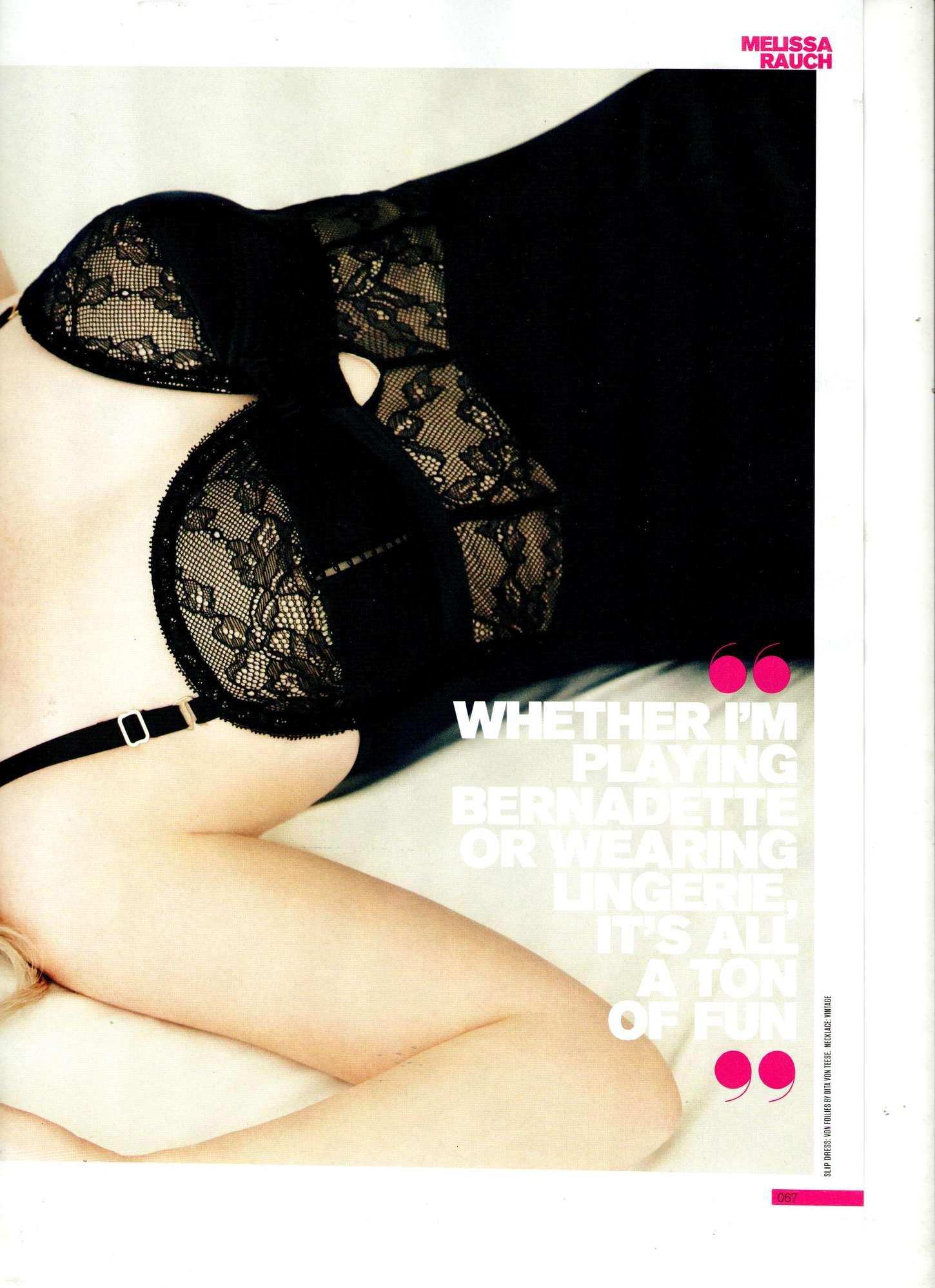 Melissa Rauch FHM Magazine