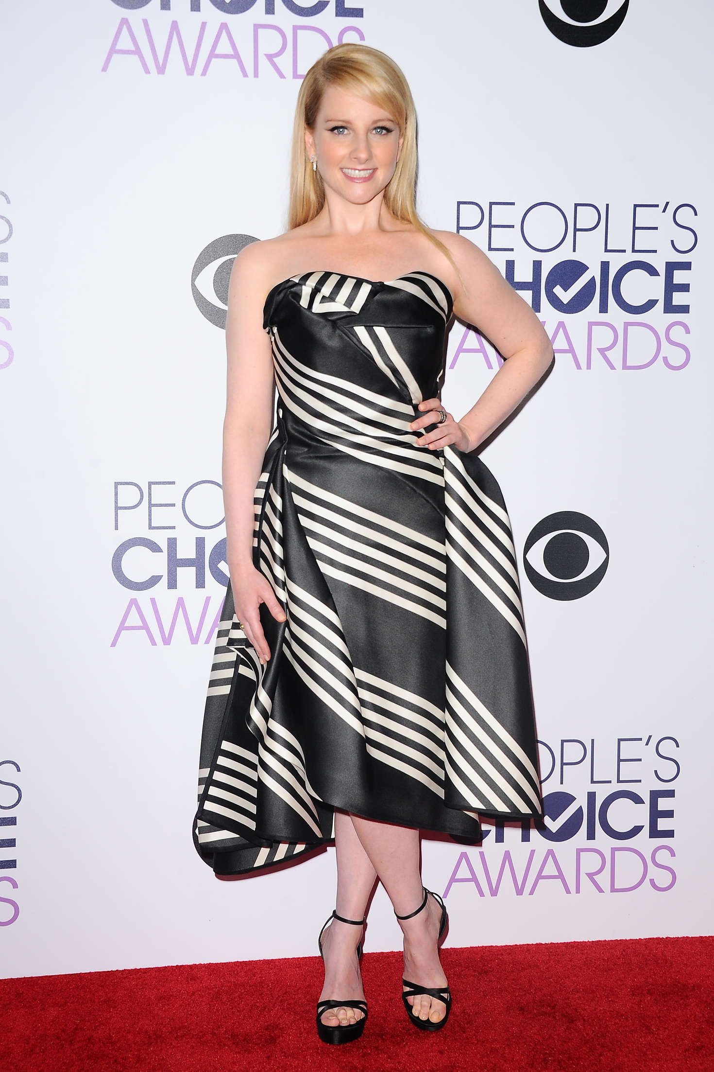 Melissa Rauch Peoples Choice Awards in Los Angeles