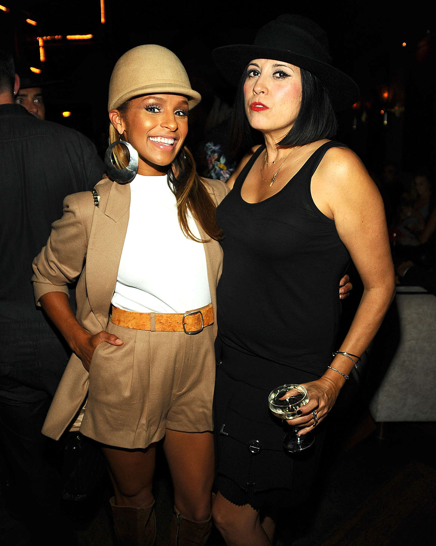 Melody Thornton Gladys Tamez FW The Zodiac Collection Preview Party