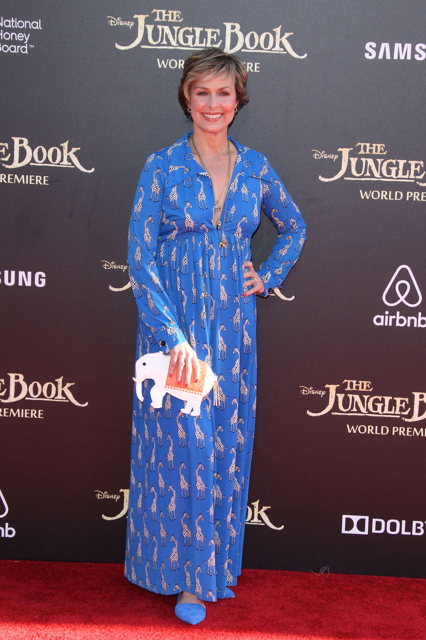 Melora Hardin The Jungle Book Premiere in Hollywood