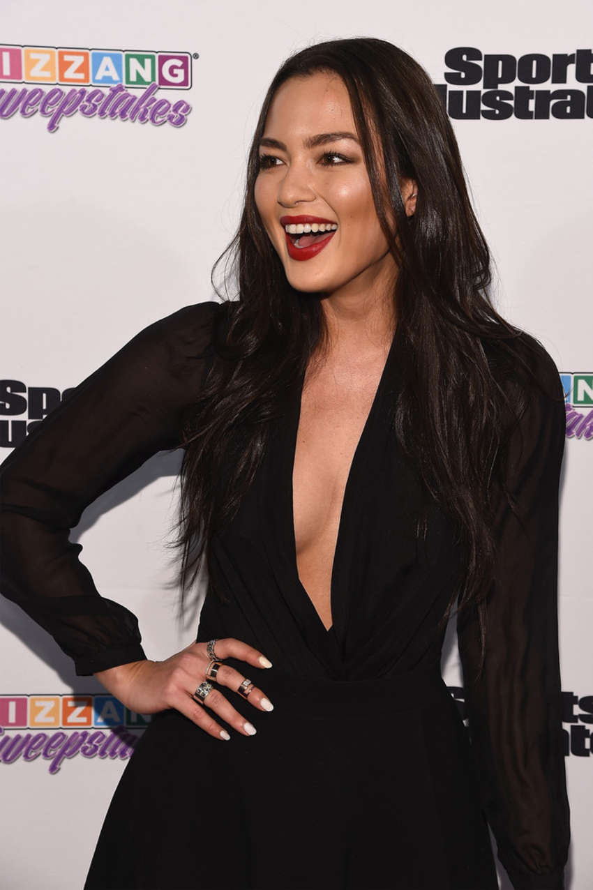 Mia Kang Sports Illustrated and KIZZANG Bracket Challenge Party in New York